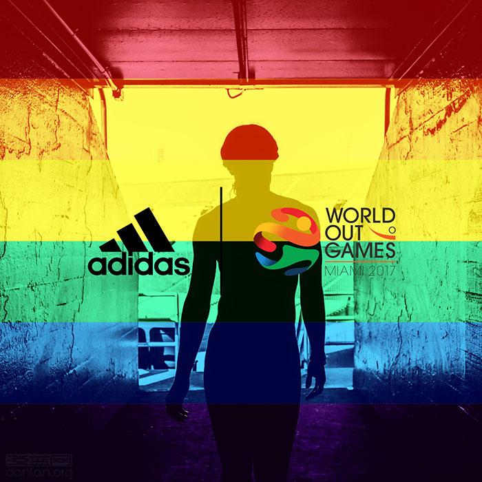 阿迪达斯赞助世界同性恋运动会