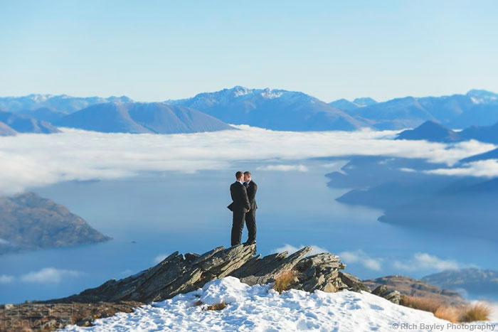 新西兰吸引中国同性恋人前去结婚
