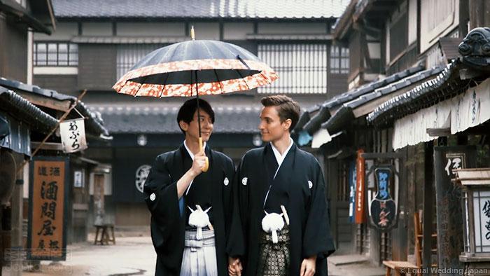 NHK民调:逾半数日本人接受同性婚姻