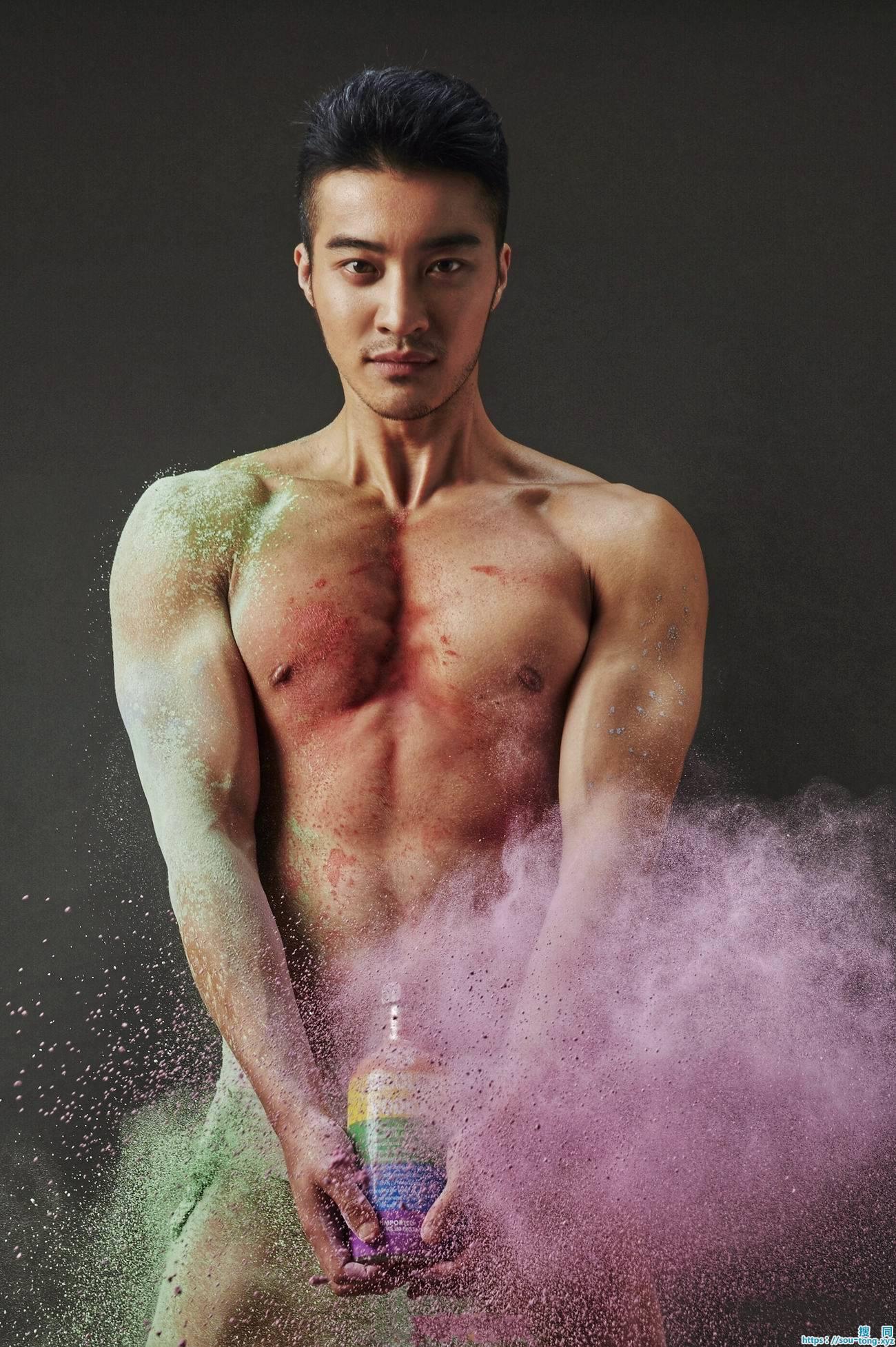肌肉帅哥樊野,色彩之野