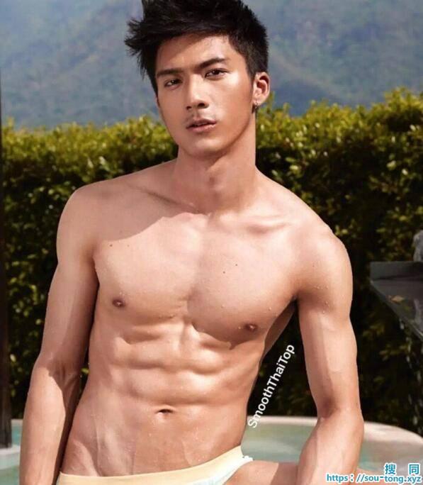 泰国肌肉帅哥