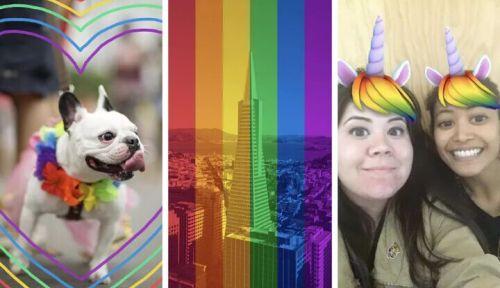 Facebook增加新过滤器 来庆祝同性骄傲月