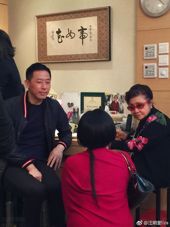 张国荣挚爱唐鹤德现身粤剧名伶寿宴