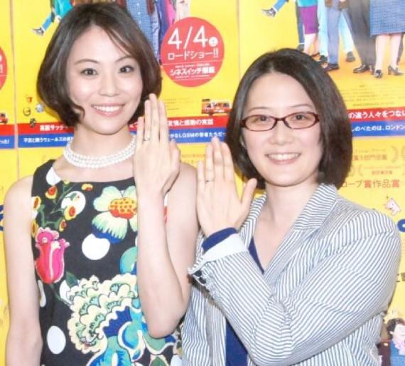 日本第一对同性婚姻艺人东小雪、增原裕子宣布离婚