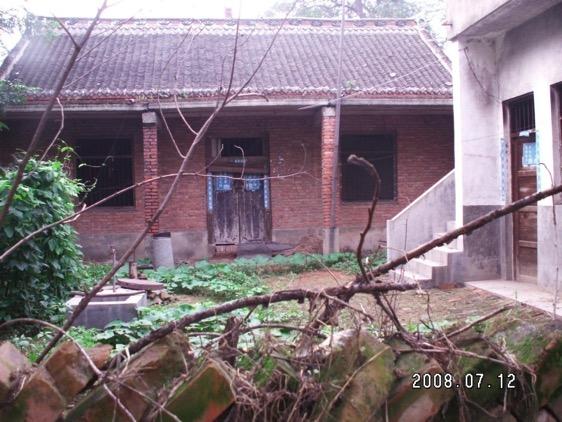 最后一次进村时拍的陈亚洲的家