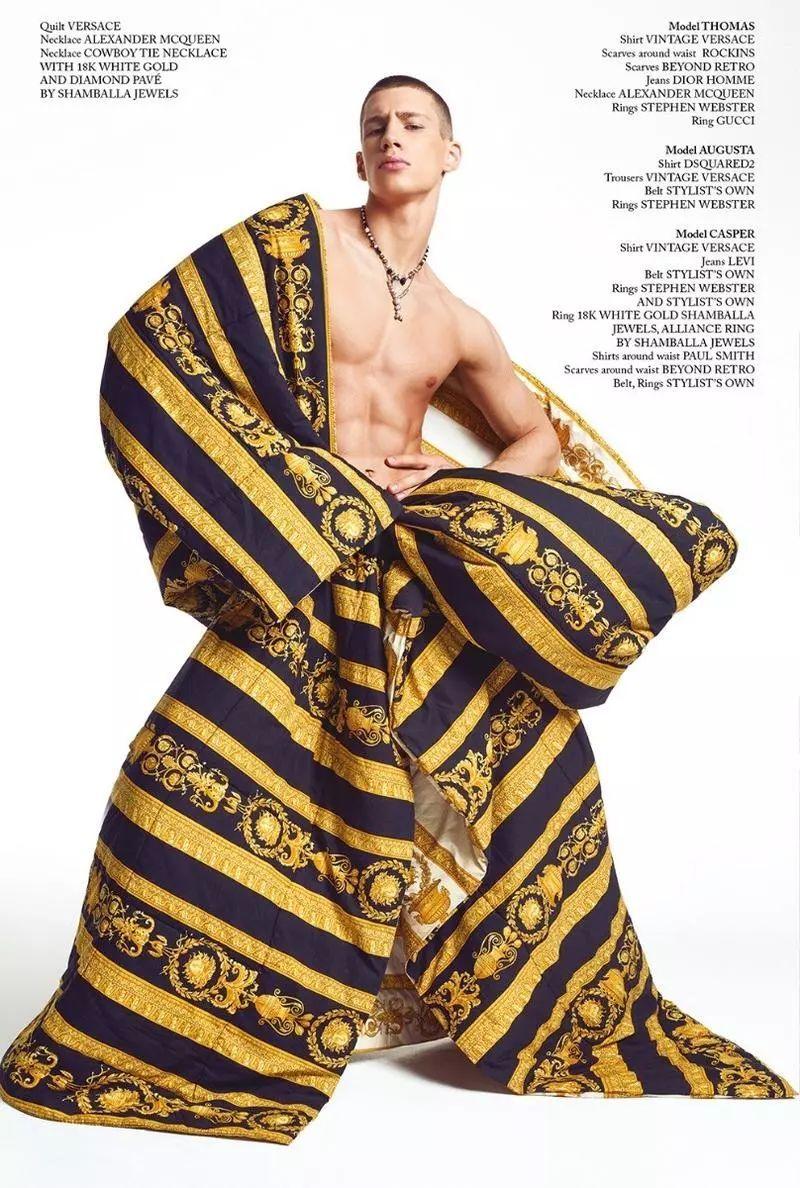 专拍Gay杂志的网红男孩,瞬间化身High Fashion男模