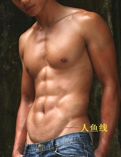 """彭于晏裸露上身大秀""""人鱼线"""",八块腹肌惹粉丝舔屏"""
