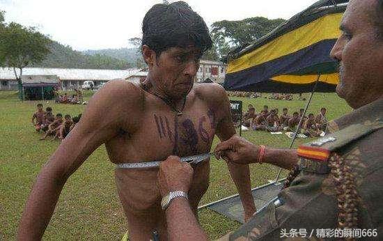 """组图:各国军人体格对比图,印度的""""最厉害"""""""