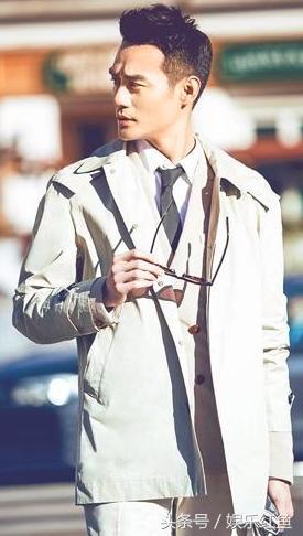 穿风衣最好看的5位男明星,胡歌王凯上榜