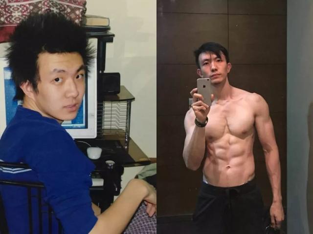 男人,健身前 VS 健身后,被帅到了!