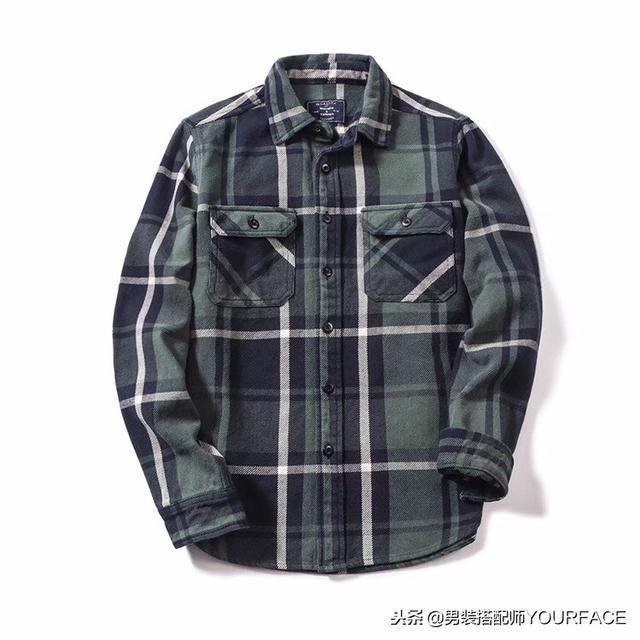 男生冬天内搭选择指南,这样穿格子衬衫你的品位直线上升一个度