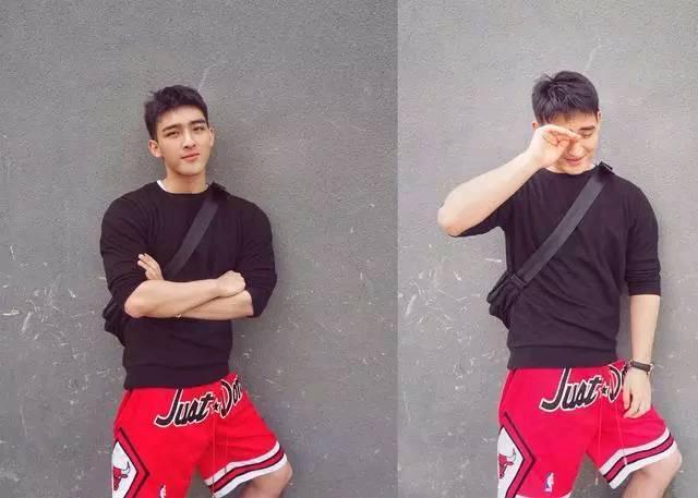 杨洋的同系校友,可爱的帅气还有小肌肉,如果不红你们会粉他吗?