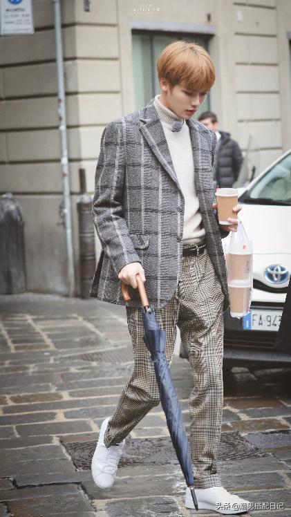 林彦俊的时尚穿搭,花样美男们的穿衣标杆