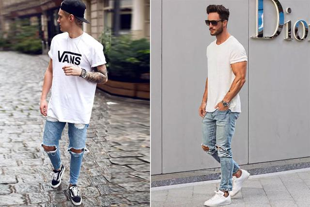 不就一件白T,凭什么他们穿的那么时髦?