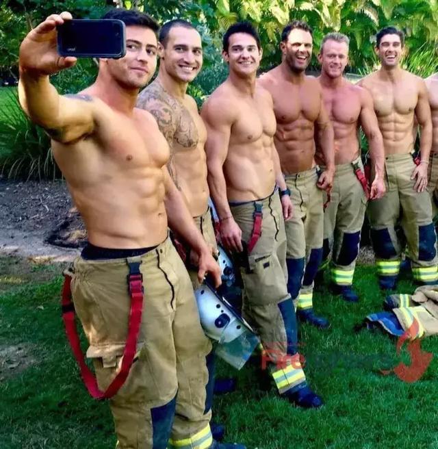 澳大利亚消防员2019年日历新鲜出炉,各个都是行走的荷尔蒙