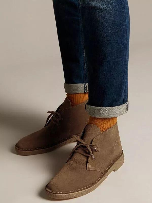 尽显粗犷魅力,马球靴&沙漠靴傻傻分不清