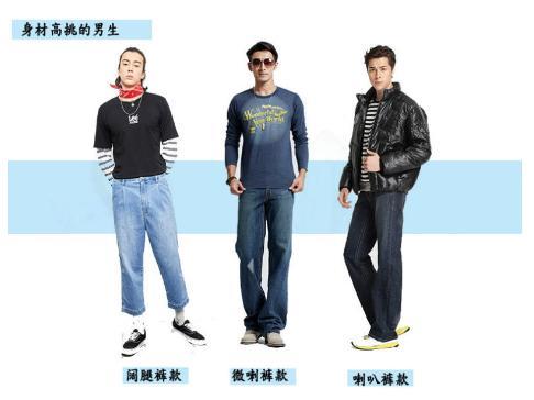 X、O型腿牛仔裤选择指南,挑对激发硬汉力度