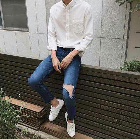 「型男穿搭」 五招这样穿让你从宅男变型男!会穿搭的男生最帅