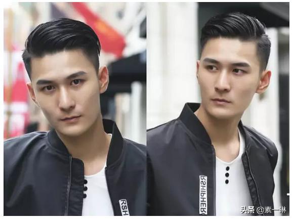 帅气发型 男士显高的发型合集