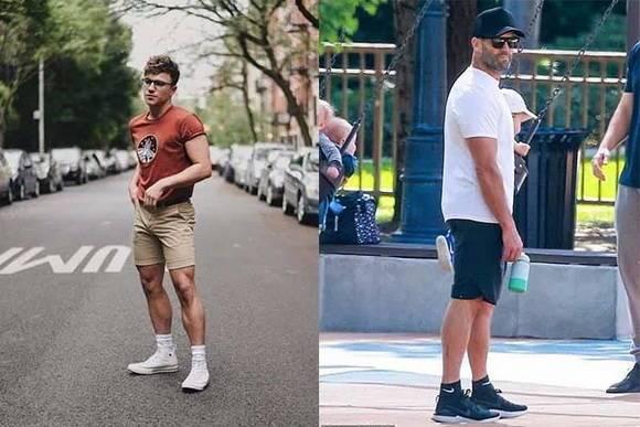 下盘粗壮短裤怎么穿?3个实用短裤穿搭守则助你凉爽有型