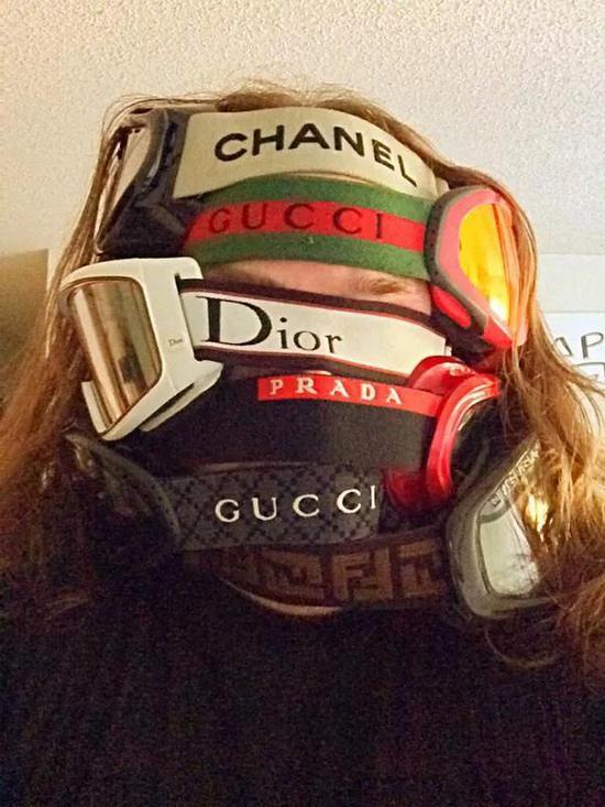 很多奢侈品牌都有化学眼镜单品